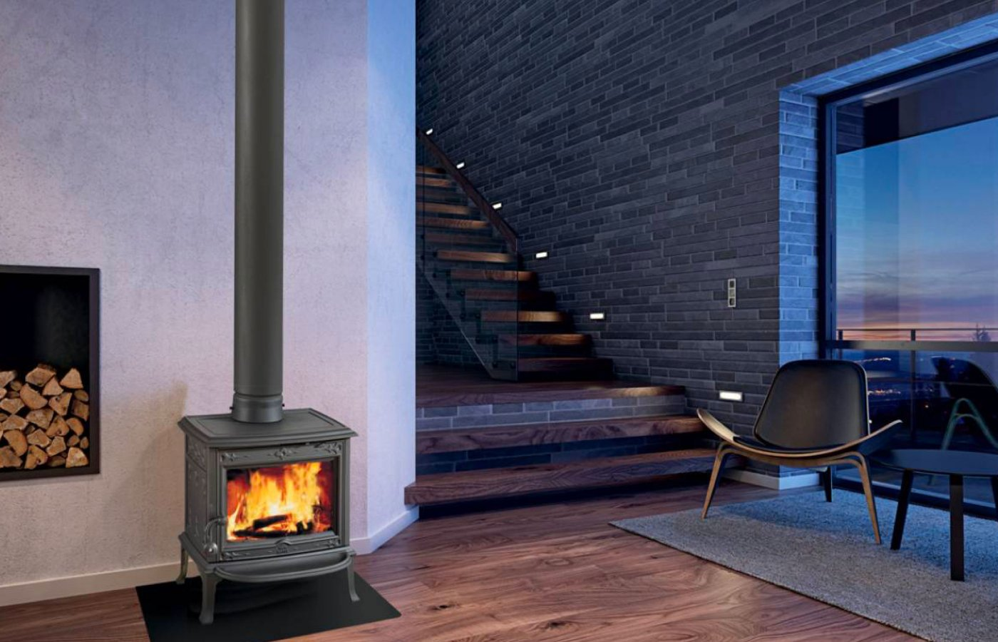 Jøtul | Cast iron wood stove, gas stove, wood burning & gas